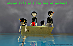 GMOD - Homestuck - SAILING AWAY... by InvaderBlitzwing