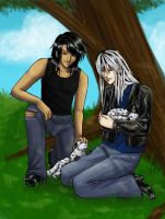 Terry and Emri by raerae