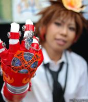 Tsuna - X Gloves Vongola Gear Version by SangzHime