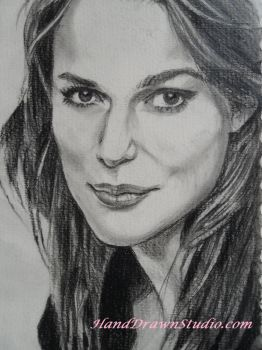Keira Knightly Hand Drawn by HandDrawnHentai