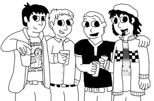 Me and the guys by SuperAshBro