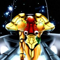 Super Metroid by doghateburger