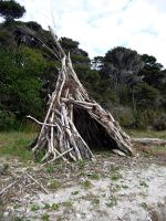 Driftwood Wigwam_3 by 1Rabbit
