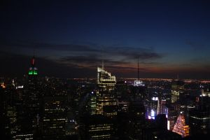 Top of the Rock--Night by Worldnewser