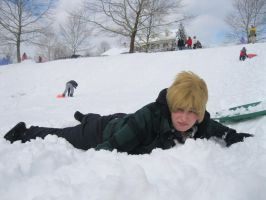 APH: I Bloody Hate Sledding. by Its-Really-Awesome