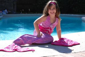 Pink Mermaid Costume by Timestitcher