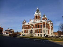 Gibson County Courthouse by uncledave