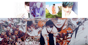 Huang Zi Tao pack - Happy b-day to Del by Luhye