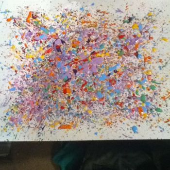 splatter paint by AnythingButThat
