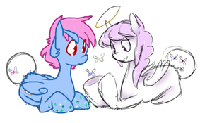 Moar fairy butts by Sugar--Cookie