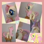 Fluttershy plushie for sale! c: by Meowplease