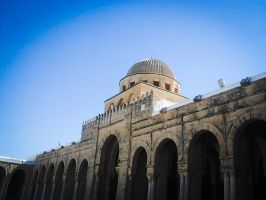 Great Mosque of Kairouan by hawen005
