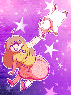 Bee and Puppycat by tarmie