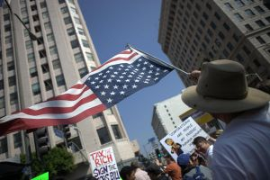 Occupy Los Angeles by rabbitcanon