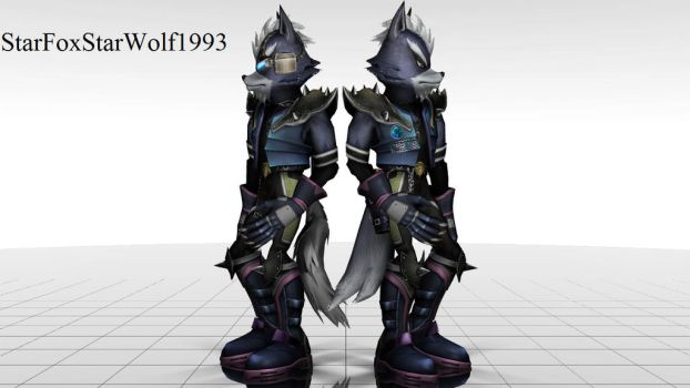 CLOSED Which Wolf model do you prefer ? video test by StarFoxStarWolf1993