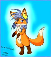 Trade-art fox TF by henka0119