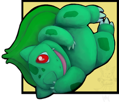 Bulbasaur by bluedemon00