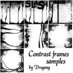 Contrast frame brushes by DragonG