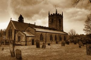 Church of St Lawrence, Eyam... by TheBaldingOne