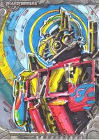 optimus prime by DavePLynch