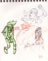 more scribbles by robiant