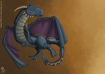 Dragon In Flight by Vyoma