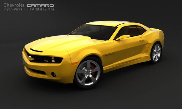 Chevrolet Camara 3D Cycles by bryansvt92