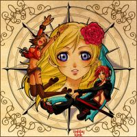 Compass Rose Princess by beiron