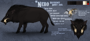 Nero Reference Sheet 2013. by Serphire