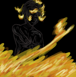 Karkat and Fire by MajesticIllusion