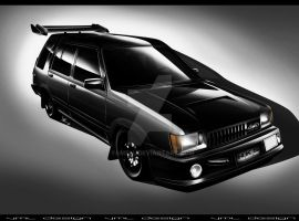 Toyota Tercel 4WD Wagon by yamell
