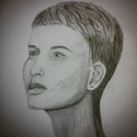 Portrait - female by scetchesandthings