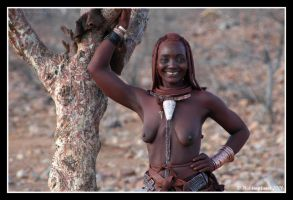 Himba woman 3 by Hiddenplanet
