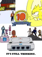 Dreamcast 10th Anniversary by ShinChuck
