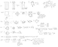 Origami Link instructions by Wakeangel2001