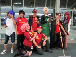 AX'13 The Devil is a Part-timer Cast by theEmperorofShadows