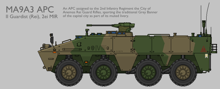 MA9A3 WMAV APC Production Standard [Graphic] by SixthCircle