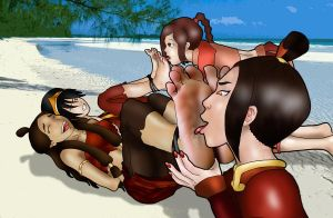Katara and Toph 2 by Richy17