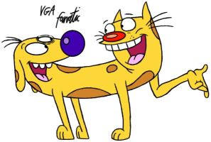 Catdog by VGAfanatic
