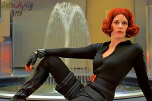 Black Widow: Relaxed? [Youmacon 2013] by katyanoctis