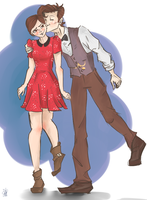 eleven and clara by cruisinforcrazy