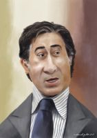 Ahmed Ezz Caricature by mgaber