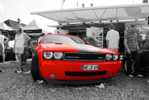 Dodge Challenger SRT by cyberfish128