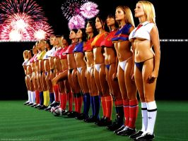 World Cup Babes by thesockpuppet