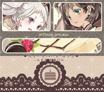 CafeSweetheart :: Artbook Preview by arielucia