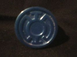 Blue Lantern Ring by ps2105