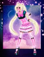 Sailor Moon by kharis-art