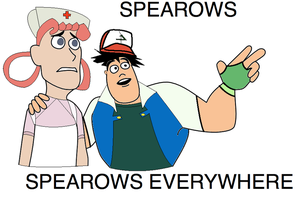 Spearows, Spearows Everywhere by LoneClone
