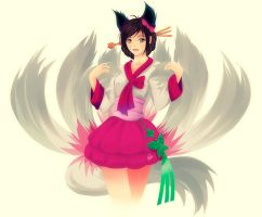 Ahri dinastica by Phiers