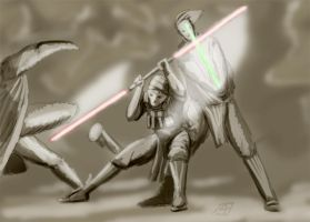 LightSaberFight by FlyingNerve